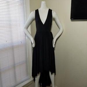 Dresses & Skirts - Sexy Black Wrap Dress